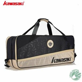 2020 New Kawasaki badminton bag 6 single-shoulder backpacks badminton racket bags men's and women's sports KBB-8640 8641