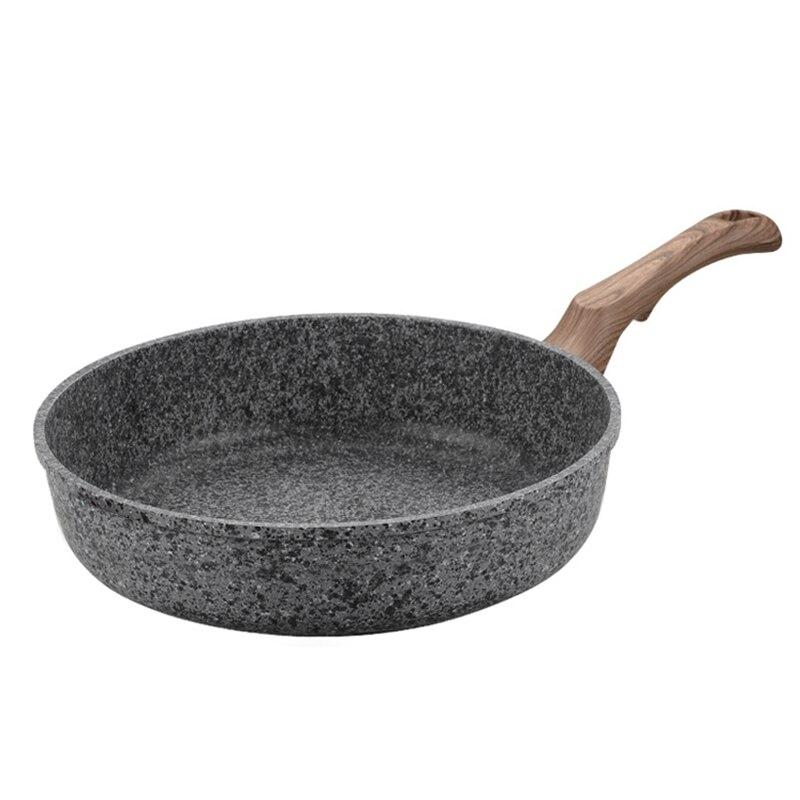20CM/24CM/28CM Aluminum Alloy Skillets Saucepan Multi-purpose Kitchen Cookware For Pancake Omelette Steak Non-stick Frying Pan