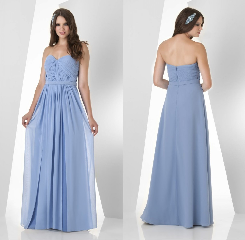 New arrival top quality classic sweetheart chiffon long 2018 special elegant A-line floor length party gown   bridesmaid     dresses