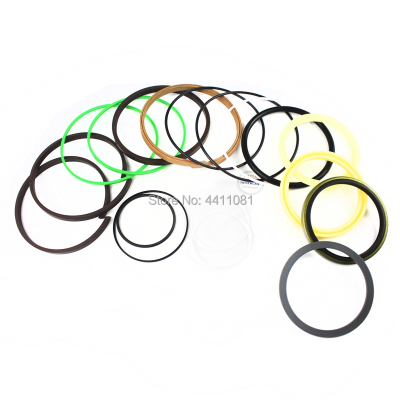 For Kobelco SK210-6E Bucket Cylinder Seal Repair Service Kit Excavator Oil Seals, 3 month warranty fits komatsu pc150 3 bucket cylinder repair seal kit excavator service gasket 3 month warranty
