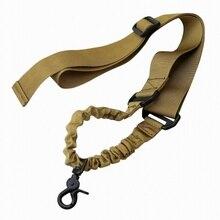 Abay военный страйкбол тактический одноточечный Банджи винтовка оружейный ремень пистолет веревка стрельба принадлежности для охоты