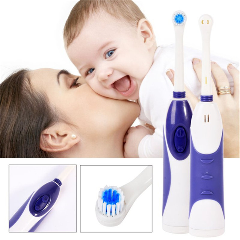 High Degree Turn Waterproof Electric Toothbrush Automatic Toothbrush Soft-bristled Oral Hygiene Dental Care Oral Hygiene H7 2pcs philips sonicare replacement e series electric toothbrush head with cap