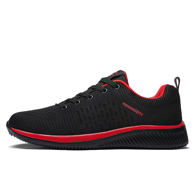 39-45 Vulcanize Shoes Men Mesh Casual Shoes Lac-up Men Sneakers Ultralight Breathable Running Sneakers Tenis Feminino Zapatos