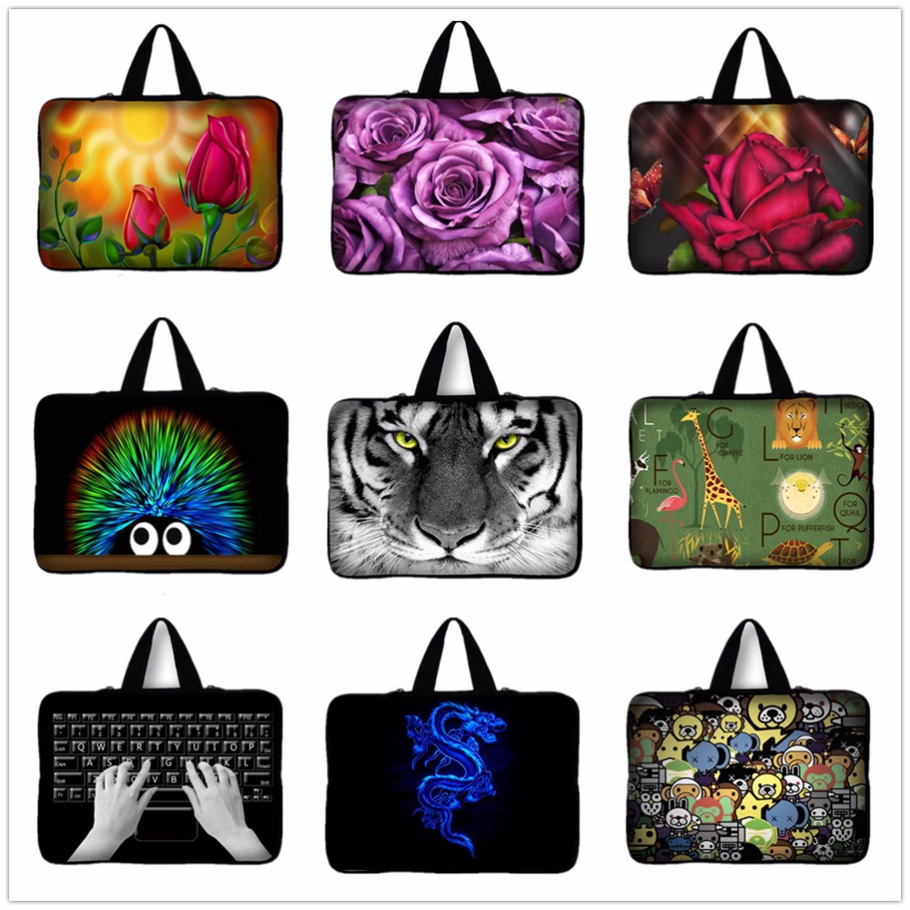 New 14 14.4 inch Tiger Laptop Sleeve Bags Ultrabook Carrying Notebook Case Women Men For HP Dell Asus Acer Computer Bag #4