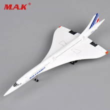 Cheap Toys Airliner Model 1:400 Alloy Collectible Display Toy Concorde Air France 1976-2003 Airplane Collection Kids