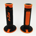 Popular Gel Rubber HandleBar Grip Off-road Motorcycle Dirt Pit Bike Orange For KTM 50 65 85 125 150 200 250 300 400 450 525