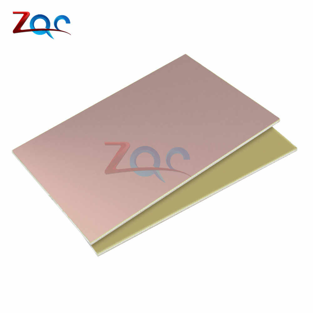FR4 PCB 10x15cm 10*15 Single Side Copper Clad plate DIY Prototype PCB Kit Laminate Circuit Board 1.2MM For DIY 10 x 15 CM