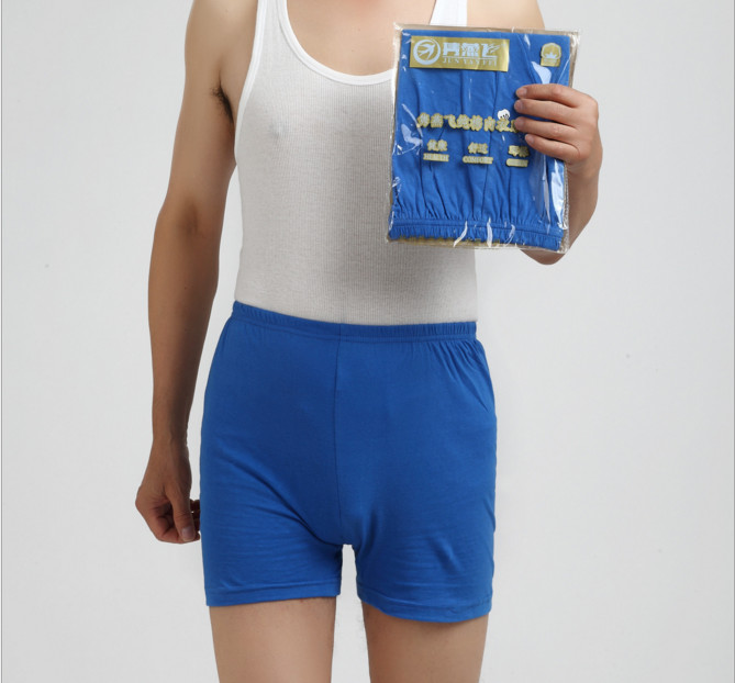 5 шт./лот, большое свободное хлопковое нижнее белье, трусы боксеры с высокой талией, дышащие толстые пояса, большие размеры, мужское нижнее бе