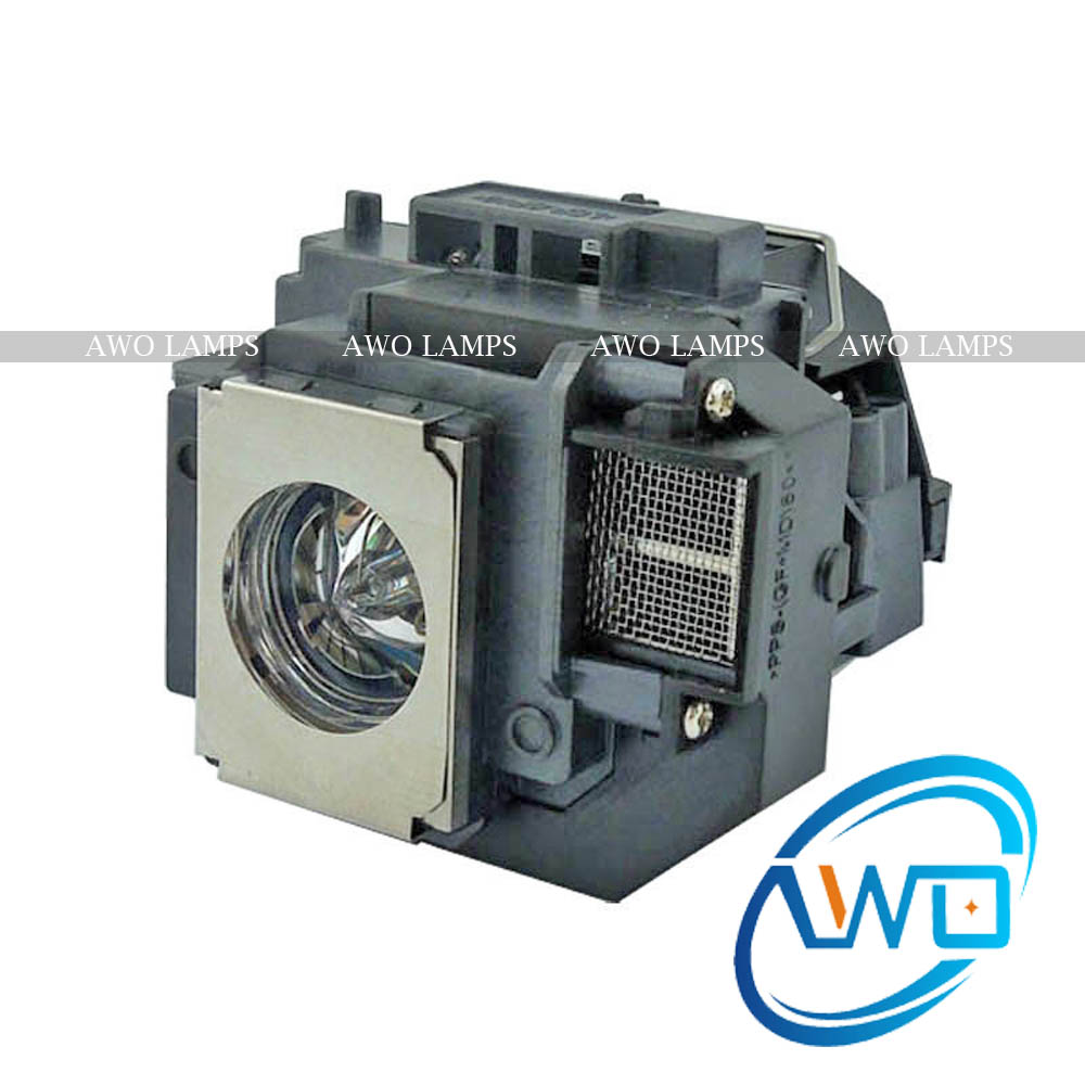 AWO Replacement Projector Lamp ELPLP54 for PowerLite HC 705HD 79 S7 S8+ W7 H309A H309C <font><b>H310C</b></font> H311B H311C Fast Shipment image