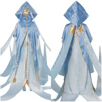 Cardcaptor Sakura Cosplay Clear Card Arc Shinomoto Akiho D Magician Clan Costume Robe Dress Halloween Carnival Costumes