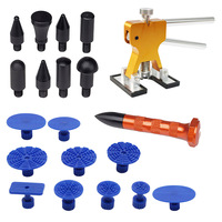 Tool Kit Paintless Dent Repair Tools Dent Removal Tapper Dent Puller Tabs Dent Lifter Hand Tool
