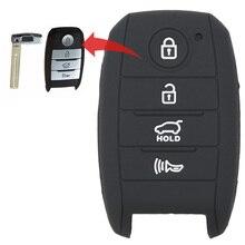 MICOCHE 4 кнопки силиконовый ключ дистанционного управления чехол для KIA Писк K5 K3 k3S K4 ОПТИМА Sportage Рио Sorento