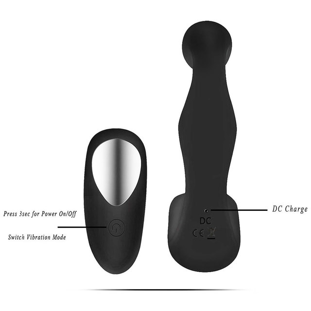 Man Anal Plugs Vibrator 7 Speed