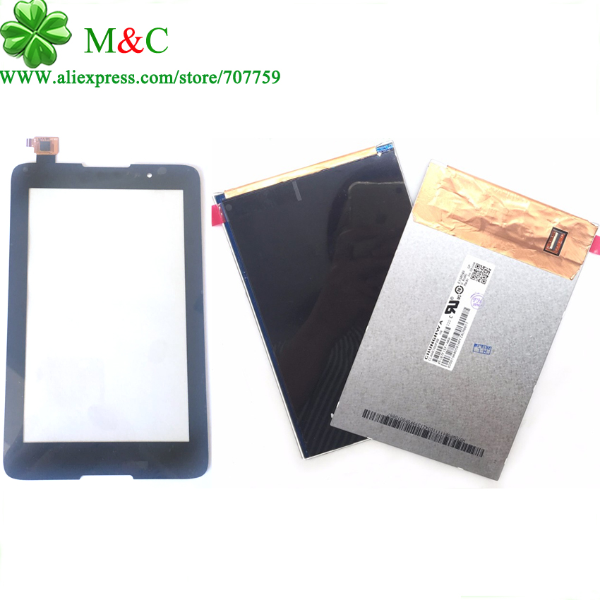 Original A3500 LCD Touch Panel For Lenovo Tablet Idea Tab A7-50 A3500 LCD Display Touch Screen Digitizer Panel With Tracking