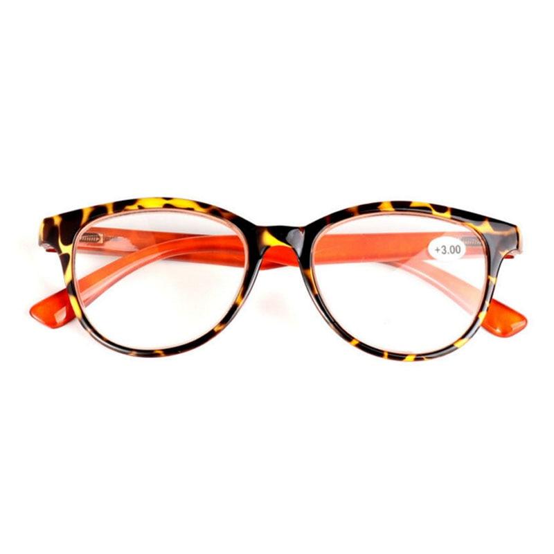 Lesebrillen Frauen Retro Leopard Lesebrille Volle Rahmen Harz Objektiv Lupe Brillen 1,0 Zu 3,5 Brillen R133
