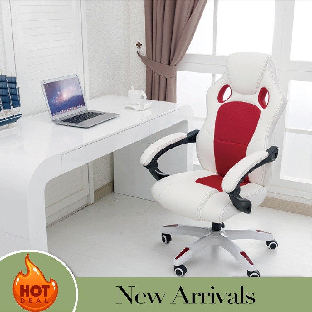 Haute Qualité Ergonomique Jouer Chaise Internet Café Chaise De Jeu Ménage Inclinables Ordinateur Chaise de Bureau