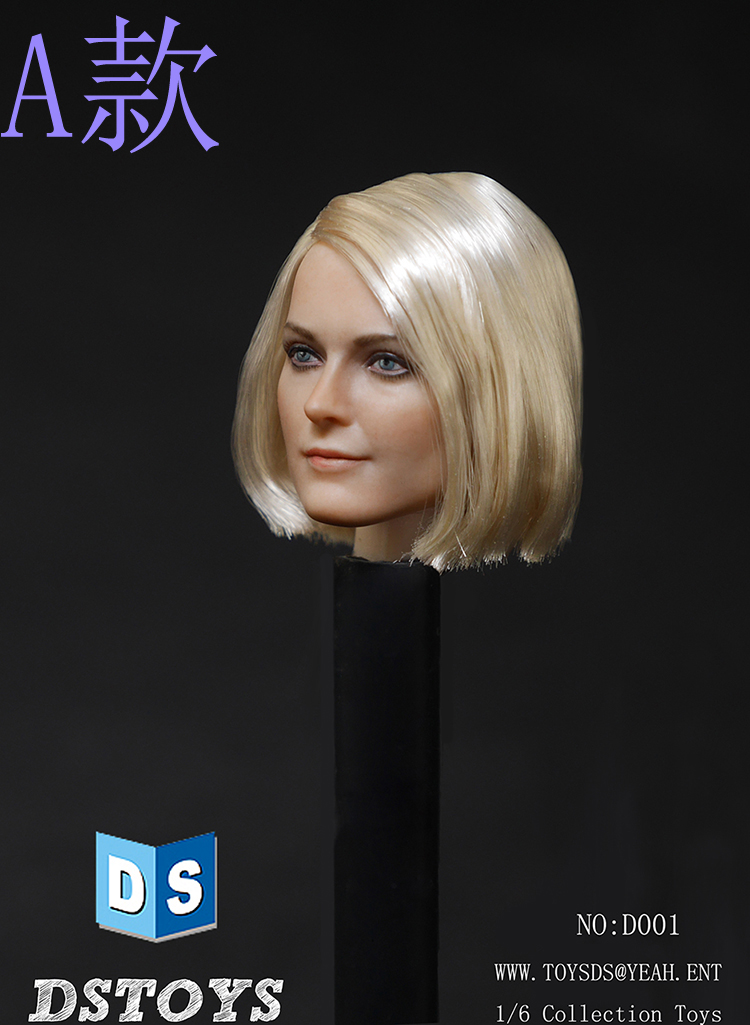 Nice Pre Sale 1:6 Scale Female Head Black Widow Carved Kimi Toys Kt012 1/6 European American Female Headsculpt Girl Head Model Keep You Fit All The Time Action & Toy Figures