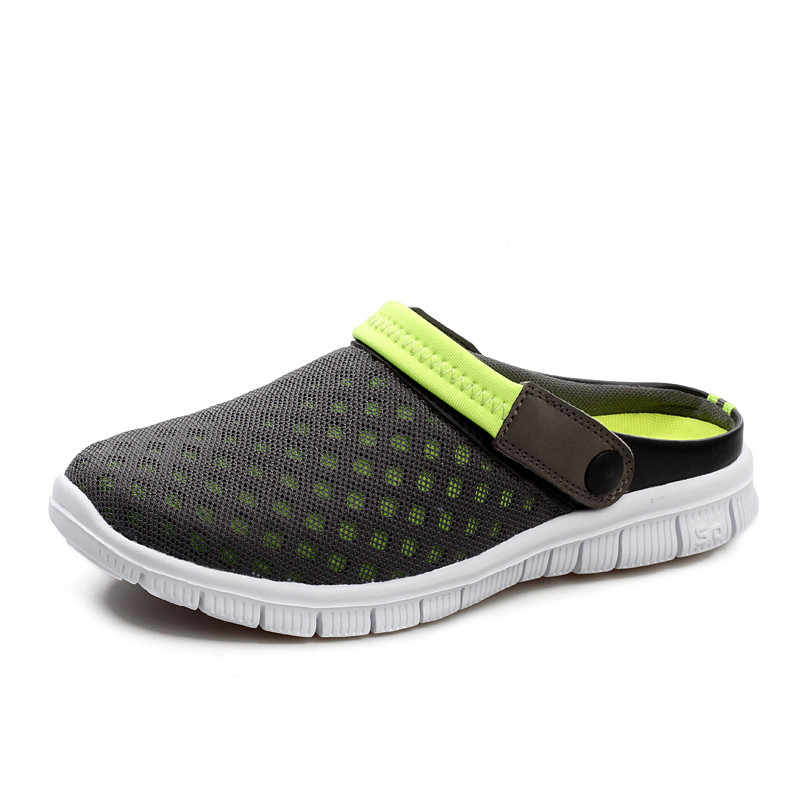 9f84adc740090 ... Summer Shoes Men Beach Slippers Men Sneakers Clogs Men Shoes Casual  Footwear Zuecos Sandalias Zapatos Hombre ...