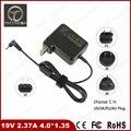Новое Прибытие портативное зарядное устройство 19 В 2.37A 4.0*1.35 45 Вт Ноутбук AC адаптер питания Для ASUS Zenbook UX21A UX31A UX32A ADP-45AW