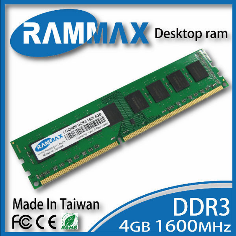 Desktop  Ram 1x4GB Memory DDR3 LO-DIMM1600Mhz PC3-12800 240-pin/ CL11 high compatible motherboard for PC Computer+Free Shipping for a m d and all desktop memory ram ddr3 8gb1600mhz work for 1333mhz 8g very good quanlity 100