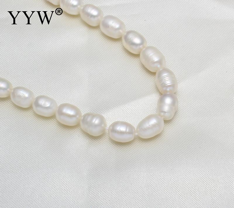 Fashion Women/'s Natural 8-9MM Gray Freshwater Cultured Pearl Necklace 31/'/' Long
