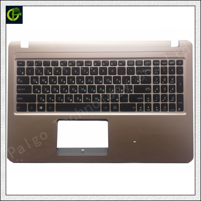 95% New Russian keyboard case palmrest cover for Asus X540 X540CA A540L K540L A540 K540 A540U F540 F540S F540SA X540CA x540j RU