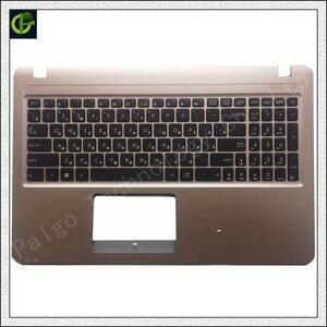 Image 1 - 95% جديد الروسية لوحة المفاتيح مع palmrest غطاء ل Asus X540CA A540L K540L A540 K540 A540U F540 F540S F540SA X540CA RU