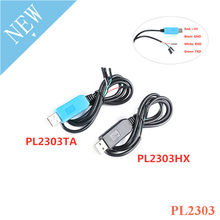 PL2303 PL2303HX PL2303TA USB Ke UART TTL Mengkonversi Kabel Serial Sikat Kabel Men-download Line RS232 Converter Adaptor Modul Upgrade(China)