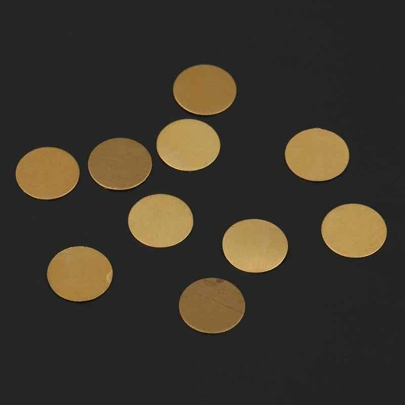 10 pz/set In Ottone a prova di Esplosione Fetta di Rottura del Disco per YONGHENG Compressore D'aria della Pompa del Compressore D'aria del Disco Per Pneumatico di Ricambio