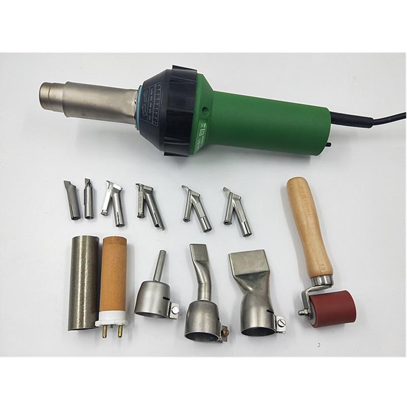 110220V plastic welding gun hot air soldering tools Vinyl Floor Welding Gun heat gun Accessories Overlap Hot Blast Torch 1600W
