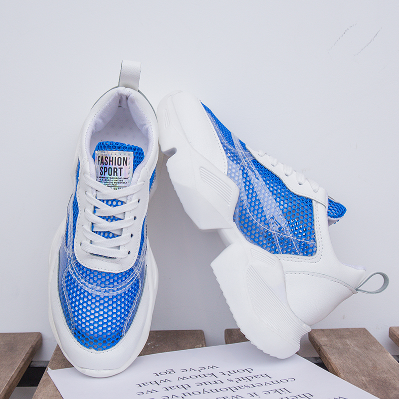 Rimocy 2019 light blue yellow mesh sneakers women breathble high platform platform summer autumn shoes woman zapatillas mujerRimocy 2019 light blue yellow mesh sneakers women breathble high platform platform summer autumn shoes woman zapatillas mujer