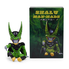 Anime Dragon Ball Z GK Cell Shalu Man.Made PVC Action Figure Freeza Doll Collectible Model Toy Christmas Gift For Children [funny] original box 28cm game over watch azrael black death reaper ripper action figure collectible model doll toy kids gift