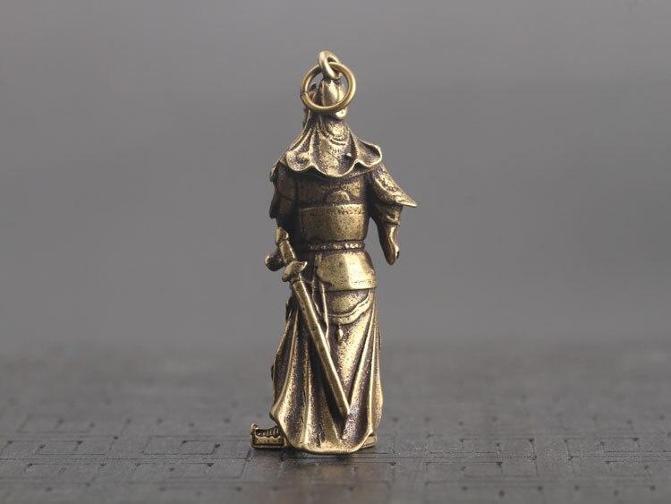 Guan Gong Statue Keychain Pendants  (13)