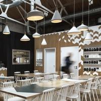 1 stks Art Deco moderne hanglamp keuken eetkamer en bar tafel lampenkap Korte Nordic Drop Opknoping Lamp AC110V/220 V E27