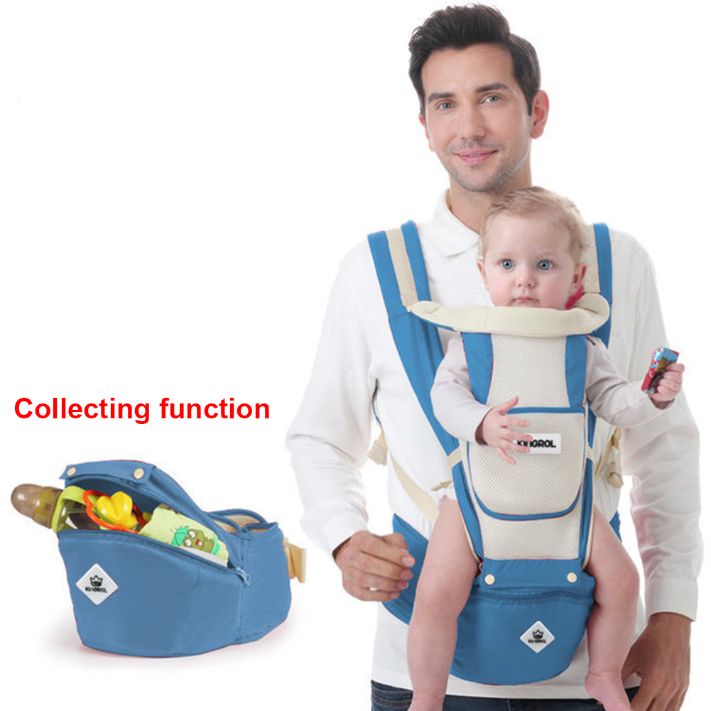 Sling Breathable Waist Stool Hipseat Infant Portable Carrier Multifunctional AdjustableSling Breathable Waist Stool Hipseat Infant Portable Carrier Multifunctional Adjustable