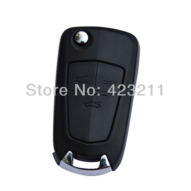 New 3 Buttons Blank Uncut Remote Key Shell Case For Chevrolet Cruze