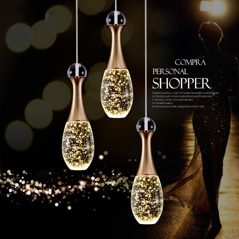 New Nordic Led pendant lights lamp crystal +metal pendant lamp modern lighting fixtures for dining room living room bar art deco modern fashion luxurious rectangle k9 crystal led e14 e12 6 heads pendant light for living room dining room bar deco 2239