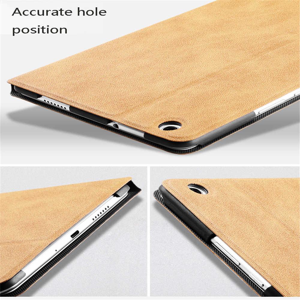 Funda para Xiao mi pad 4 funda protectora anti-caída 8 pulgadas flip cover mi pad 4 Plus 10,1 pulgadas Carcasa protectora