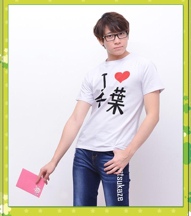 My youth романтическая комедия неправильная, как я ожидаю футболка аниме Hikigaya Hachiman Косплей Костюм Модная хлопковая футболка футболки