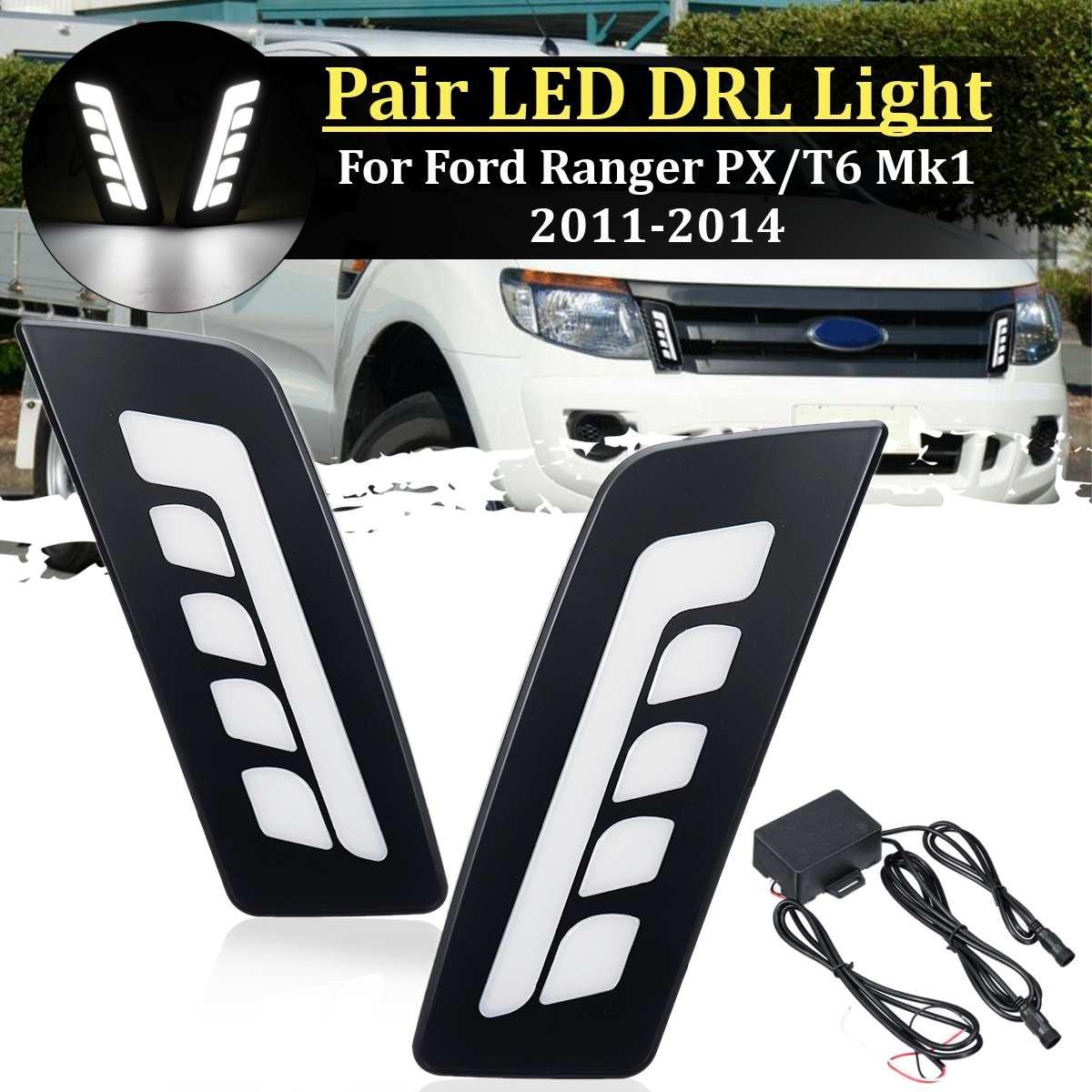 Gray Headlight Front Lamp Cover Trim FORD RANGER MC XLT WILDTRAK PICKUP 2015-17