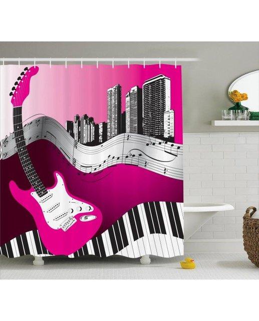 87 Bass Shower Curtain Biology Shower Curtain Featuring The