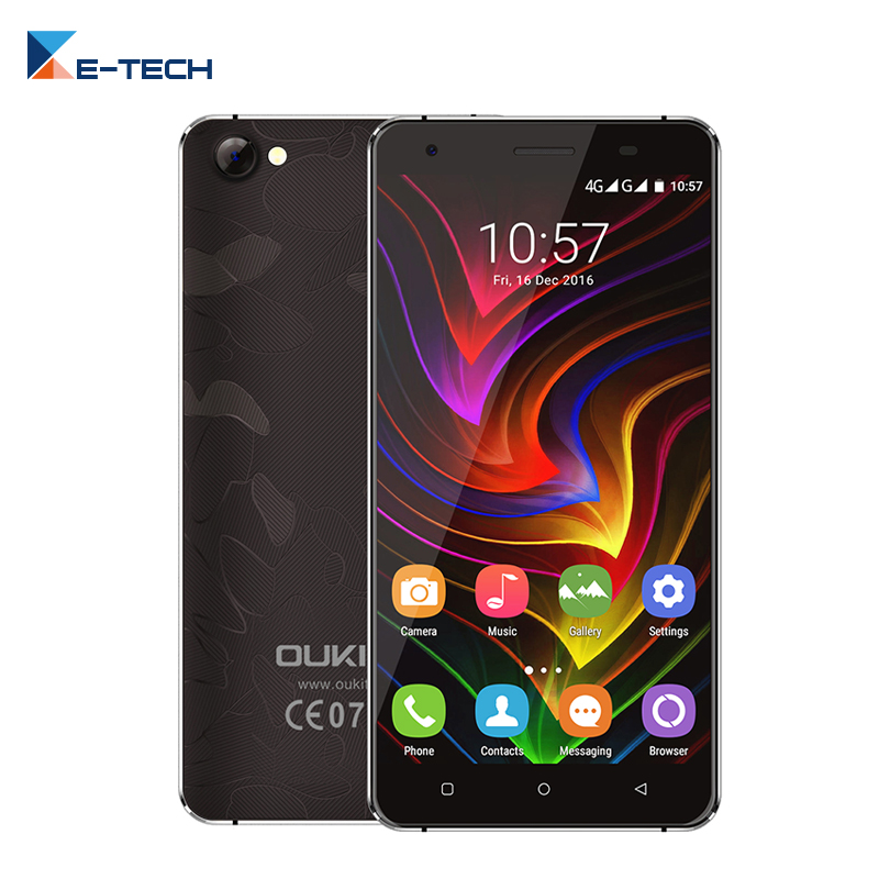 bilder für Oukitel C5 PRO Smartphone MTK6737 Quad Core 5,0 Zoll 1280x720 bildschirm handy 2 GB RAM 16 GB ROM Android 6.0 Zelle telefon