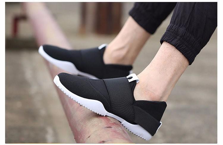 Hellozebra Men Casual Shoes Breathable Board Flats Soft Shoe Set Foot A Pedal Lazy Tide Mesh Students Shoes 2016 Autumn New  (9)