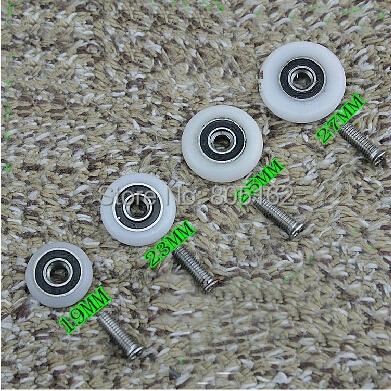 Shower roller,shower door roller,plastic roller,pulley,wheels(XYHL-055),free shipping