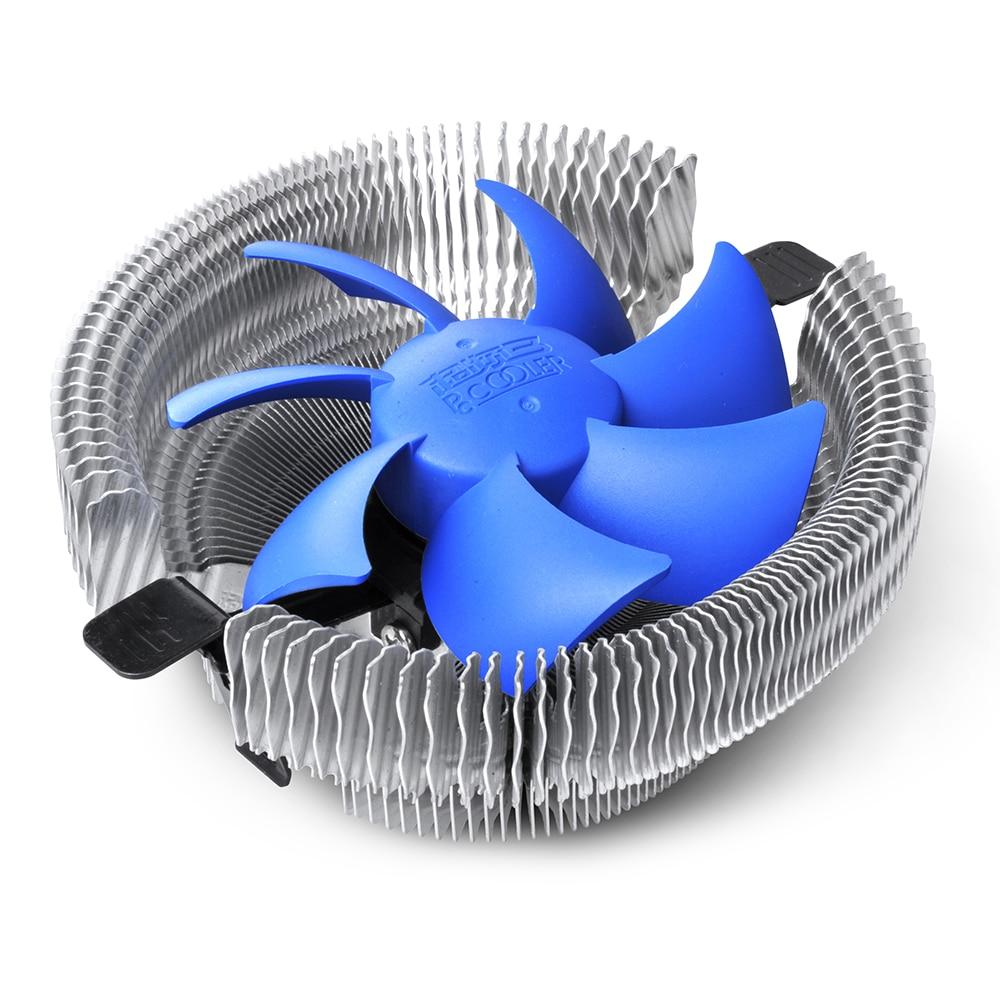 2017 PCCOOLER 90mm 3pin Silent Cooling CPU Fan Heatsink Cooler Compatible for Intel LGA775/1155 /1156/LGA1150