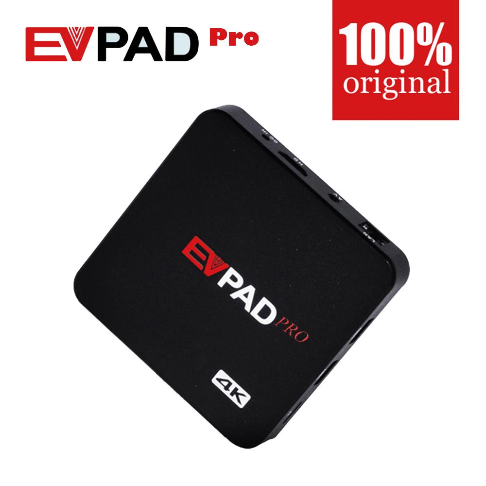 Prix pour EVPAD PRO IPTV Chine HK Coréenne Japon MalayTaiwan NOUS Canada UE Android TV box/Set top Box s'appliquent à Bluetooth microphone et GamePad