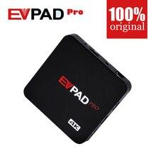Resmi Yetkilendirme EVPAD PRO IPTV Çin HK Kore Japonya MalayTaiwan ABD Kanada Ab Android TV box/Set üstü Kutusu Bluetooth