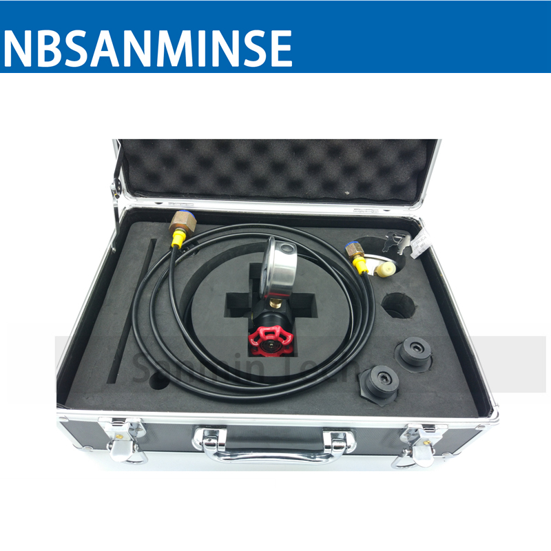 CPU Box Type Nitrogen Charging Tool Hydraulic Components Cast Iron / Stainless Steel 304 Type A-alloy Toolbox Sanmin hydraulic knockout tool hydraulic hole macking tool hydraulic punch tool syk 15 with the die range from 63mm to 114mm