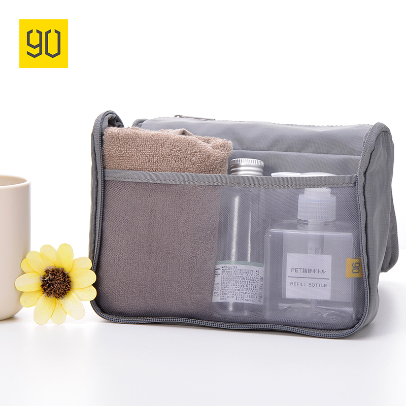Xiaomi Ecosystem 90FUN Waterproof Portable Wash Bag Woman Makeup Cosmetic Toiletry kit in luggage Travel Trip Vacation