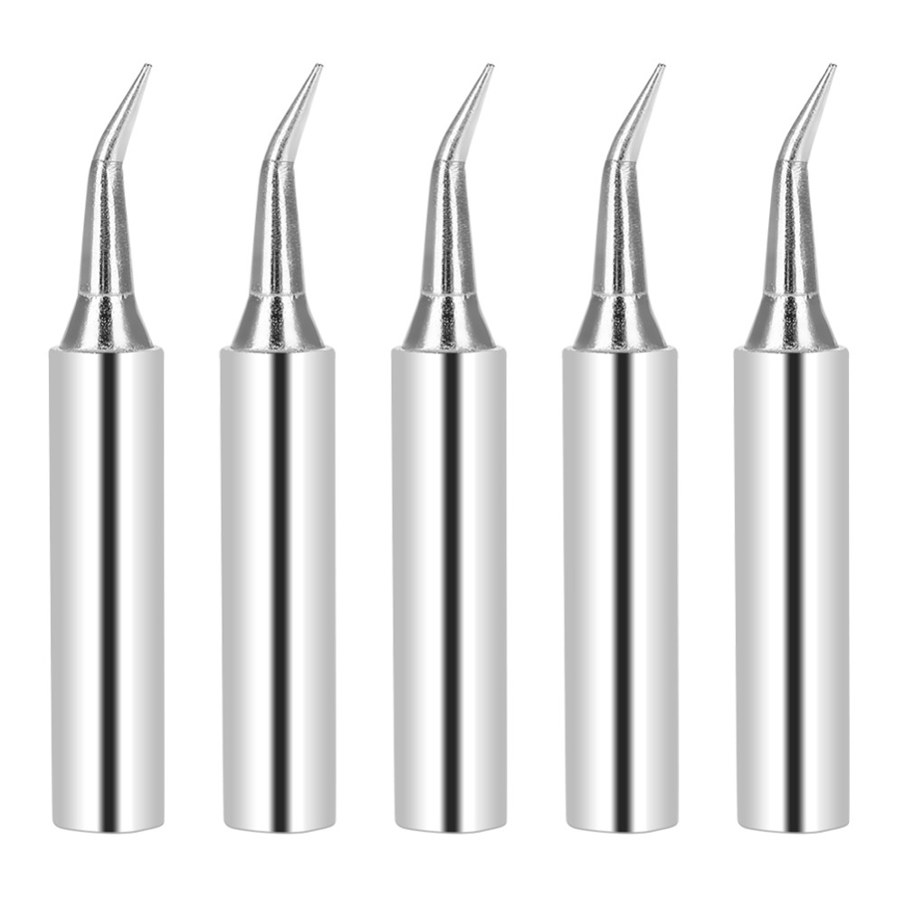 5 Pcs Soldering Iron Tips 900M IS Solder Tip Tool Replacement for 936 Rework Station Soldering Bit Set Welding Tips-in Welding Tips from Tools